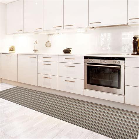 grand tapis de cuisine tapis de cuisine vinyle hydrofuge antidérapant sur