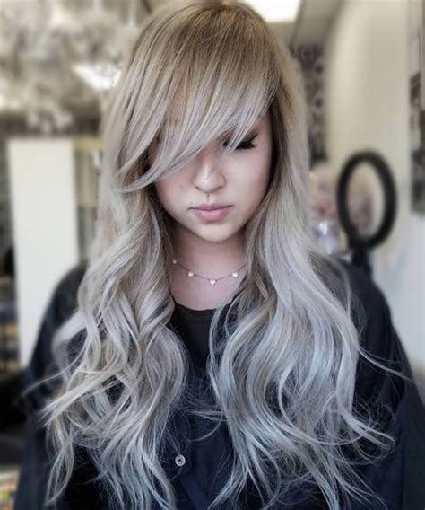 pictures of haircuts silver hairstyles 2018 with wispy bangs weekly styles 9668
