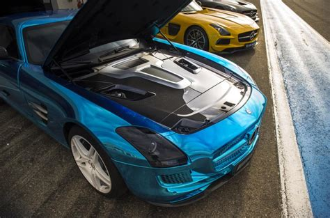 mercedes amg sls electric drive   review