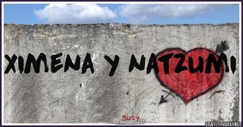 Graffiti Ximena : Ximena Y Natzumi