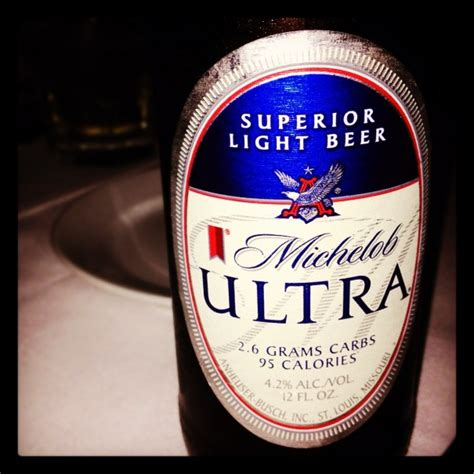 how many calories in a michelob ultra light michelob ultra beers and ears
