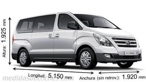 Hyundai H100 Backgrounds by Medidas Hyundai H 1 Travel 2015 Maletero E Interior