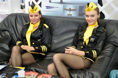 Stewardess Costume In Fascination Air Show ~ World Stewardess Crews