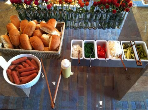 Dress Your Own Hot Dog Bar Nba All Star Weekend My 31st