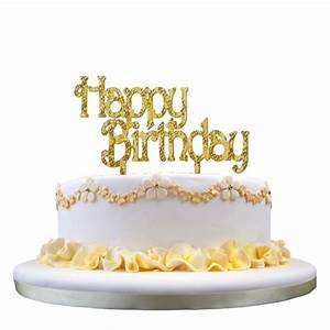 Image De Gateau D Anniversaire : dor joyeux anniversaire forme de g teau d 39 insertion carte ~ Melissatoandfro.com Idées de Décoration