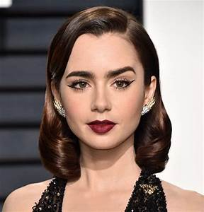 Lily Collins Hair Color 2017 Celebrity Hair Color Guide