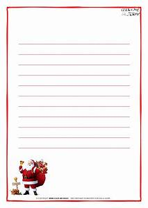 santa claus writing paper templates
