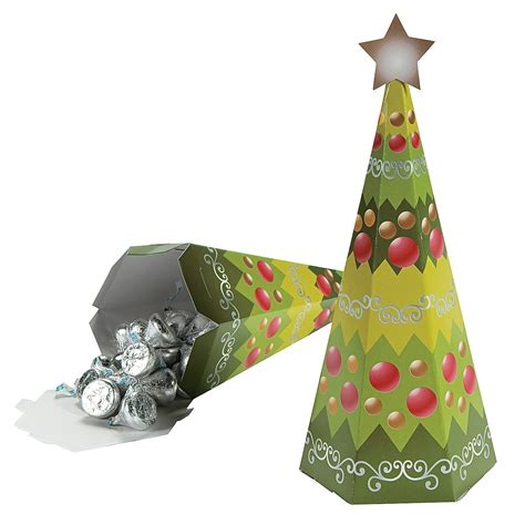 christmas tree shaped favor boxes oriental trading