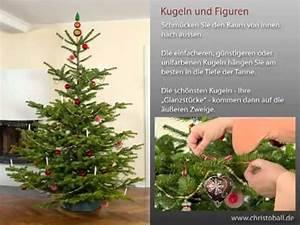 Weihnachtsbaum Richtig Schmücken : weihnachtsbaum schm cken leichtgemacht youtube ~ Buech-reservation.com Haus und Dekorationen