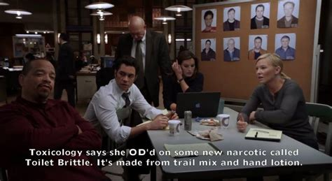 Ice T Memes - ice t s dialogue is vastly improved with these fake svu captions
