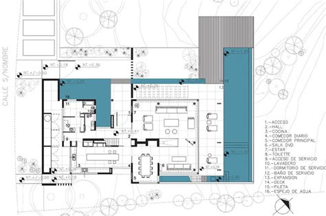 stunning architectural plan ideas modern riverside house in buenos aires argentina