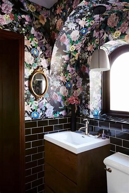 Bathroom Maximalist Hunker Floral Minimalism Forget Hgtv