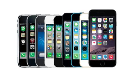history of the iphone iphone a visual history