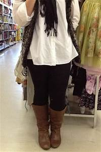 Black leggings brown boots? - BabyCenter