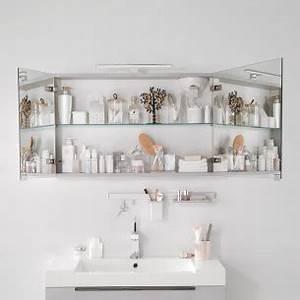 Meuble Salle De Bain Asymétrique : armoire de toilette pour salle de bains espace aubade ~ Nature-et-papiers.com Idées de Décoration