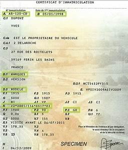 Certificat D Immatriculation Vente : certificat immatriculation lire et comprendre sa carte grise certificat d 39 immatriculation ~ Medecine-chirurgie-esthetiques.com Avis de Voitures
