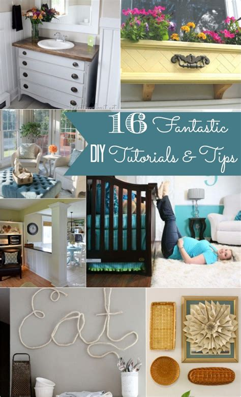 20 tutorials and tips not to miss diy projects home 16 fantastic diy tutorials tips home stories a to z