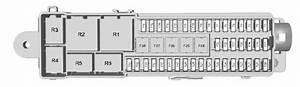 Ford Kuga  2012 - 2018 - Fuse Box Diagram