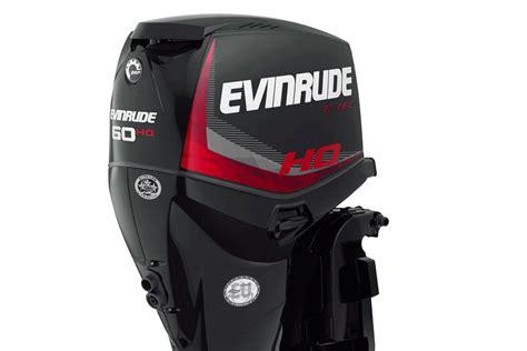 New Evinrude E-tec 60 H.o.