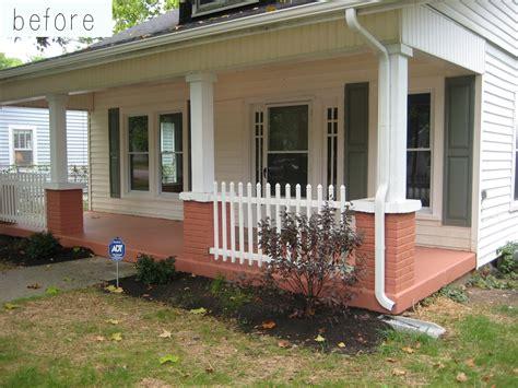 front porch railing bungalow porch railing designs