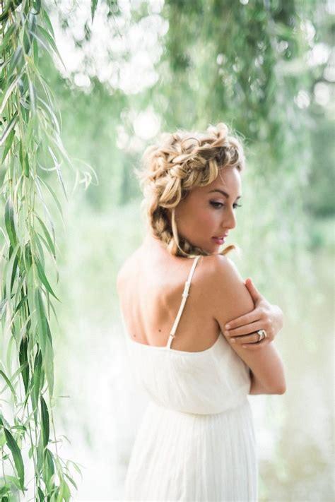 wedding hairstyles for medium length hair modwedding