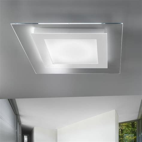 illuminazione a soffitto moderna lada a soffitto moderna led tecnology space di antea luce