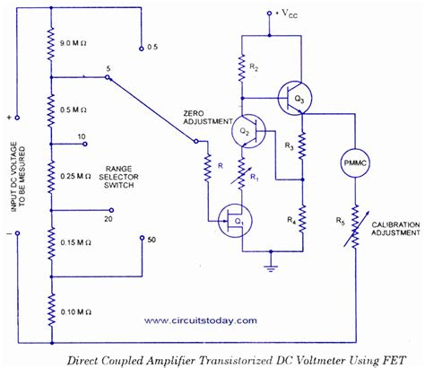 Voltmeter Circuit Diagram Block Basic Guide