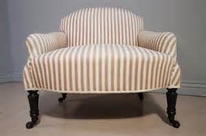 Antique Victorian Upholstered Armchair