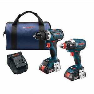 Bosch 18 V : bosch 18 volt lithium ion cordless 1 4 in and 1 2 in impact driver and 1 2 in drill driver ~ Frokenaadalensverden.com Haus und Dekorationen