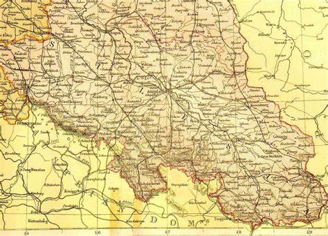 schlesien  karten deutsche geschichte schlesien