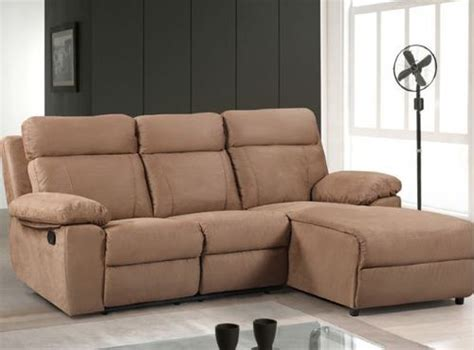 l shaped with recliner reclining l shaped sofa home the honoroak