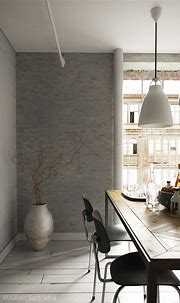 A Cool Grey Interior for a Free Spirit