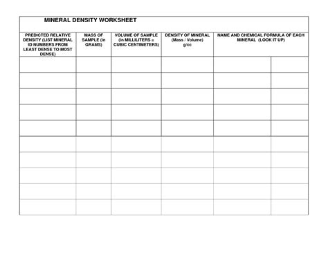 13 Best Images Of Rocks And Minerals Worksheets  Rock And Minerals Printables, Rock And Mineral