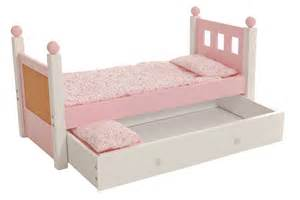 for 18 inch american girl doll single bed and trundle