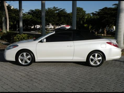 Toyota Solara Convertible For Sale by 2007 Toyota Camry Solara Sle V6 Convertible For Sale In