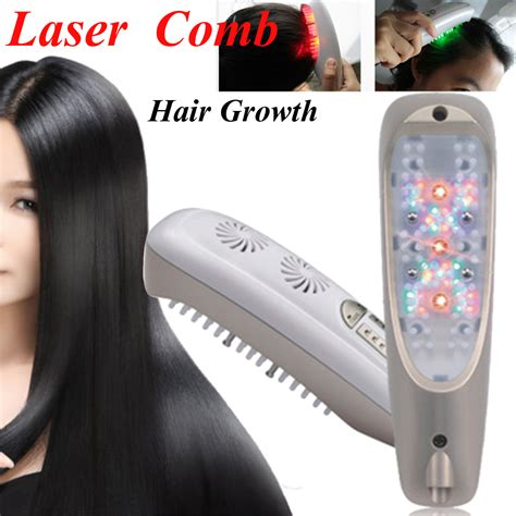 light therapy hair growth comb 3 in 1 microcurrent intense pulsed light laser hair growth