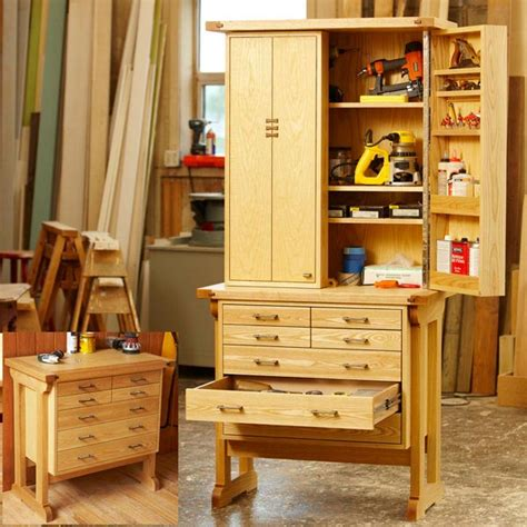 heirloom tool chest woodworking plan  wood magazine