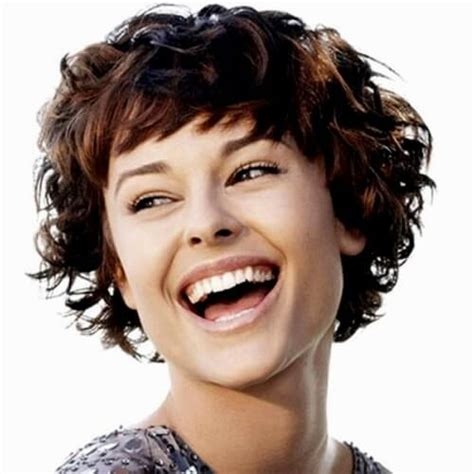 short hairstyles for thick curly hair round face 50 remarkable short haircuts for round faces hair motive