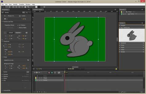 There are better plugins for exporting svg from adobe animate cc. Flash Professional CC 2014 - SVG Export for Edge Animate ...