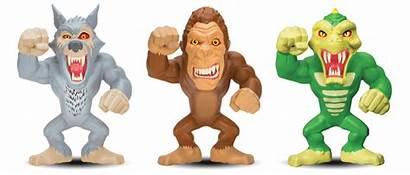 Figures Lanard Rampage Stretch Super Toys Action
