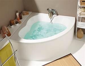 Grande Baignoire D Angle : baignoire d 39 angle flora nf 140 x 140 cm brico d p t ~ Edinachiropracticcenter.com Idées de Décoration
