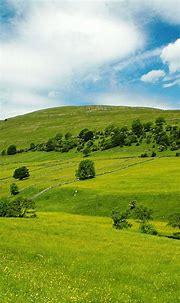Sky Mountin High Green Grass Smartphone Wallpapers HD ⋆ ...
