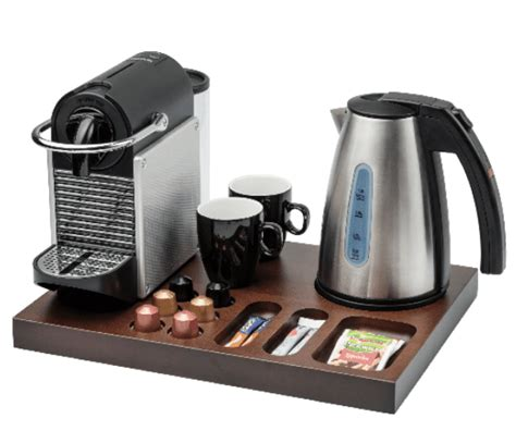 If you haven't tried it, go! Bentley Xanthic Coffee & Tea Wooden Welcome Tray Case of 6
