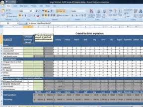Excel Expenses Template Uk by Monthly Budget Spreadsheet Home Finance Management Excel