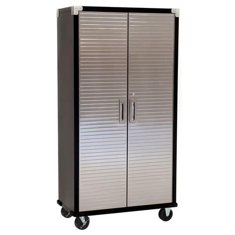 Garage Storage On Wheels by Maxim Hd Upright Cabinet With Wheels Standard Size