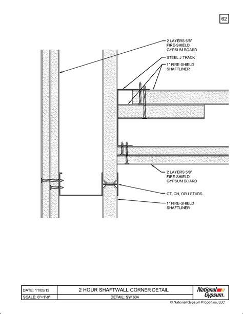 2 Hour Ceiling Assembly Gypsum Integralbookcom
