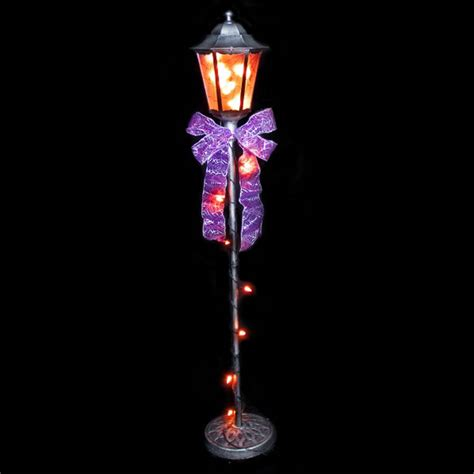holiday living halloween lights lighted halloween l post