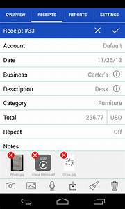 Receipts - Android - English