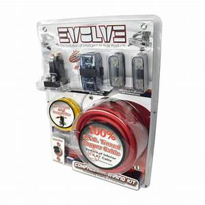 Evolve Dual Compressor Wiring Kit By Avs