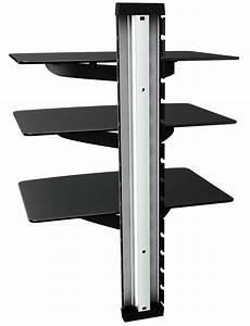 Regal Für Dvds : glas regal hifi wandhalterung dvd glasregal wand board xl 11175 ~ Sanjose-hotels-ca.com Haus und Dekorationen